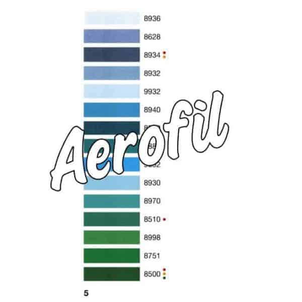Color chart 5