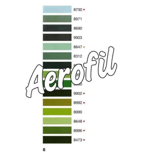 Color chart 6
